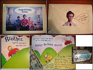 Jordan niednagel my blog for my birthday last year he had a bunch of different funny characters on my envelope so i decided to go with a little napoleon dynamite bookmarktalkfo Choice Image